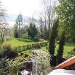 Blick richtung Spielplatz und Bodensee
