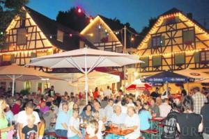Dorffest Sipplingen auf dem Dorfplatz
