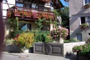 Brunnen im Ortskern von Sipplingen